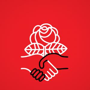 Democratic Socialists of America Logo for website