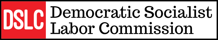 Democratic Socialist Labor Commission banner logo
